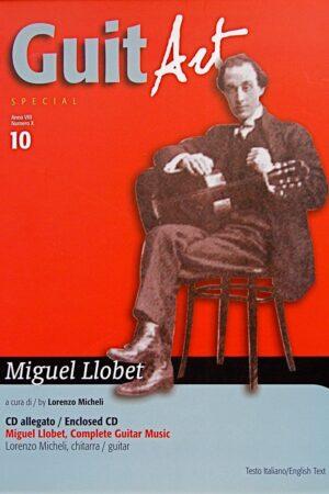 Miguel Llobet+ cd